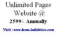Unlimited Website @ 2599/- only
