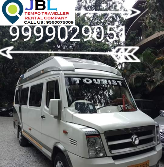 Tempo Traveller on rent in Ghaziabad